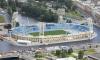 Поле на Петровском стадионе в плохом состоянии