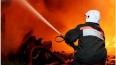 В Петербурге горит мусорная свалка