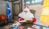 В Петербурге для Деда Мороза сделают огромную новогоднюю открытку