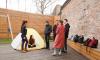 """В Петербурге люди ночуют в палатках, чтобы попасть на кастинг """"Последнего героя"""""""