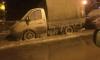 На Тимуровской машины превратились в ледяные скульптуры из-за прорыва трубы