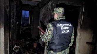 Пожар в Тосненском районе унес жизни двоих подростков