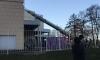 Пожар в торговом центре Выборгского района напугал петербуржцев