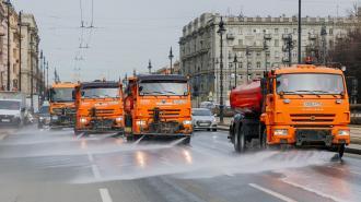 После майских праздников с петербургских улиц убрали 1300 кубометров мусора