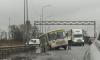 Провал на дороге в Шушарах поглотил переполненную маршрутку