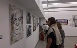 """4 художника создали свою """"Групповую выставку"""" в Петербурге. Словоавторам"""