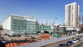 Реконструкция петербургского колледжа судостроения подходит к концу