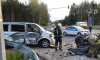 В аварии у Кингисеппа пострадали пять человек