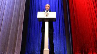 Путин: Российские военные в Сирии защищают РФ и СНГ от экспансии боевиков