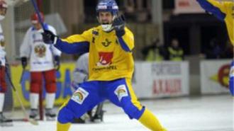 Российская сборная проиграла шведам со счетом 2:4