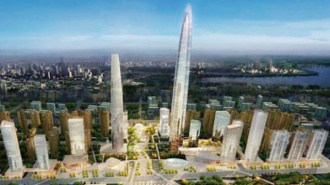 В Китае построят километровый эконебоскреб