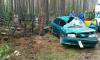 Во Всеволожске иномарка врезалась в могильные плиты, водитель скончалась
