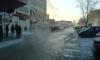 Затоплен проспект Ветеранов - авария на теплотрассе