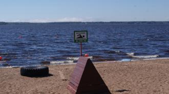 Пляжи в Ленинградской области готовят к открытию летнего сезона