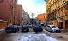 Жители Петербурга жалуются на заставленную автомобилями 1-ю Советскую улицу