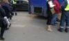 На Невскомстолкнулись автобуси троллейбус: образовалась пробка