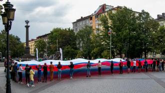 ВВыборге отпраздновалиДень государственного флага