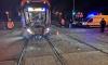 Авария с участием маршрутки и трамвая в Петербурге. Водитель ехал на красный свет