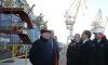 Медведев посетил атомный ледокол на Балтийском заводе в Северной столице