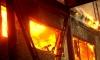 Из горящего полурасселённого дома спасли троих детей