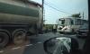 На Московском шоссе маршрутка врезалась в грузовик