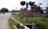 В Ставропольском крае Лада Калина столкнулась с товарным поездом