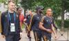 Сборная Бельгии прошлась по Северной столице перед матчем