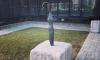 На Богатырском проспекте появился памятник зонту