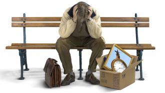 В связи с кризисом сокращается каждый пятый офисный работник