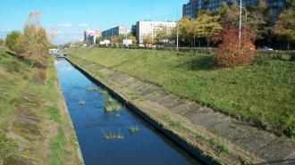Эксперты устанавливают причину образования пены в реке Волковке