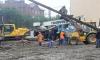 Лиговский проспект перекрыли в связи с угрозой падения буровой установки