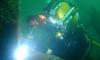 Под Петербургом построят дом для дайверов на 8-метровой глубине