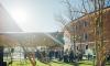 В Петербурге поврежденная газовая труба закрыла Новую Голландию