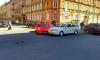 """Гламурная брюнетка на """"лабутенах"""" и красном Ferari устроила ДТП в центре Петербурга"""