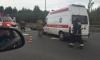 Мотоциклист разбился в ДТП с внедорожником на КАД