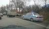 Сегодня утром в Красном селе произошло массовое ДТП