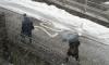 Мощный снегопад обрушился на Магадан
