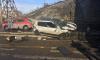 В Челябинске легковушка с беременной за рулем упала с моста: появились фото