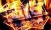 Кассир нелегального обменника пять часов сжигала деньги