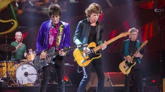 О группе The Rolling Stones снимут художественный сериал