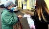 Волонтеры выдали более 200 масок жителям поселка Советский