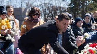"""Защитник """"Зенита"""" поздравил петербуржцев с Днем Победы"""