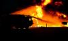 В Петербурге загорелось трамвайное депо