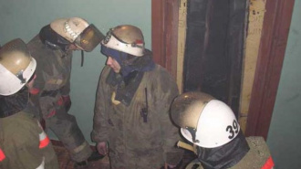 Мужчина заживо сгорел в кабине лифта в Норильске