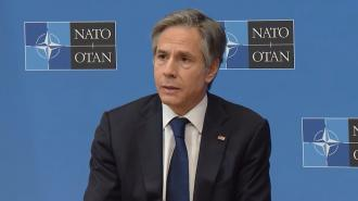 Bloomberg: Блинкен обсудит с НАТО обострение ситуации около границ Украины