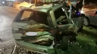 В Курской области пьяный водитель стал виновником ДТП с шестью машинами