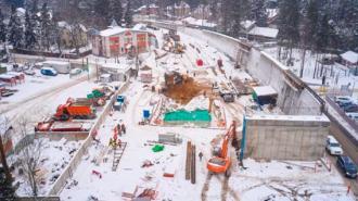 Движение по новому путепроводу во Всеволожске запустят к концу 2021 года