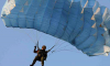 Спасатели ЗВО за 2018 год совершили более тысячи прыжков с парашютом