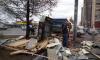 В Петербурге снесли незаконные павильоны в четырех районах города