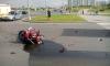 Молодой мотоциклист погиб в чудовищном столкновении с грузовиком на севере Петербурга